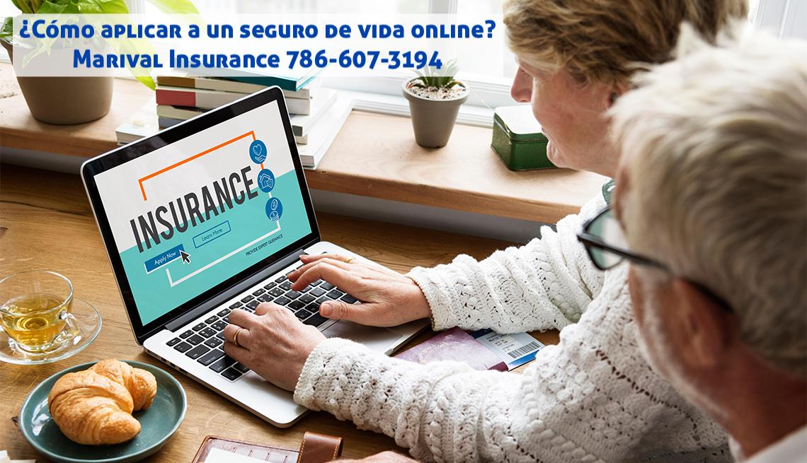 ¿Cómo aplicar a un seguro de vida online?